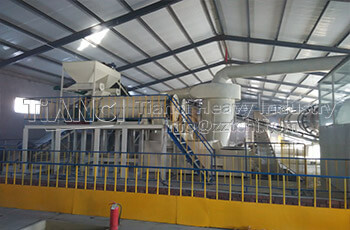 Jiamusi City Flat Die Production Line Installation Site