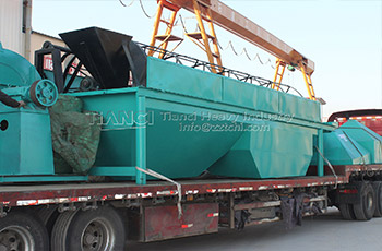 Fertilizer granulator shipping to Indonesia with ball shaping machine