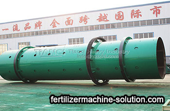 Compound fertilizer drum granulator production line