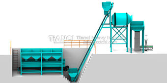 NPK Blending Fertilizer Production Line